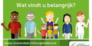 Meer zeggenschap voor burgers met Roosendaals Burgerakkoord
