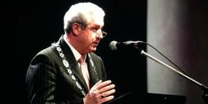 Woensdagavond 2 januari hield burgemeester Niederer zijn nieuwjaarsspeech in de Sint Jan