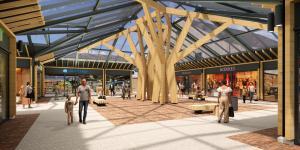 De verbouwing van winkelcentrum Tolberg gaat in voorjaar 2021 van start