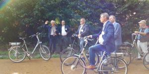 De Route van de Turf is in Bergen Op Zoom geopend
