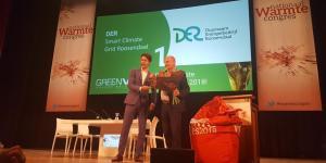 Duurzaam Energiebedrijf Roosendaal (DER) wint de award van duurzaamste warmtenet van Nederland 2018