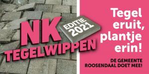 De gemeente Roosendaal doet mee aan NK Tegelwippen