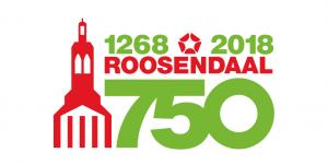 logo 750 jaar Roosendaal