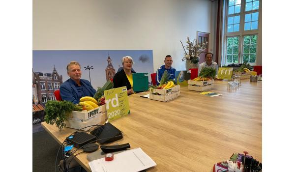 Deze week tekenden ruim 30 organisaties het allereerste Roosendaals FIT! akkoord.