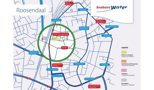 Informatiekaartje werkzaamheden BrabantWater