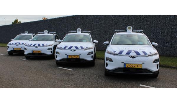 Elektrische voertuigen voor handhaving