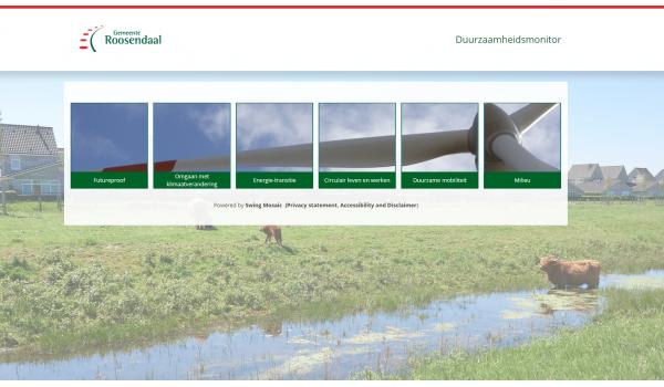 screenshot duurzaamheidsmonitor