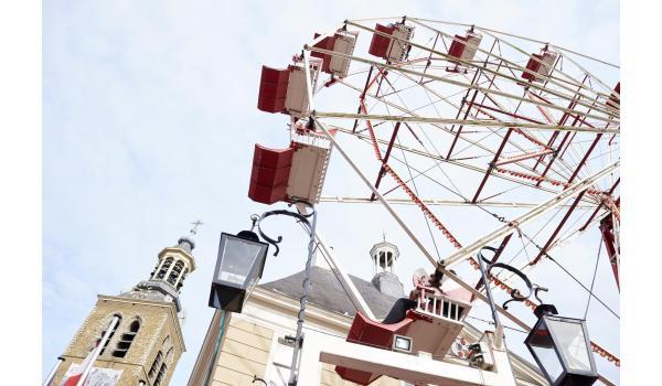 Het college van burgemeester en wethouders heeft vandaag besloten dat de kermis in Roosendaal dit jaar definitief niet doorgaat