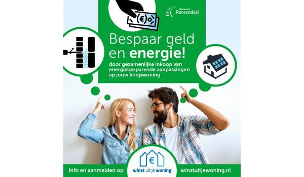 De gemeente Roosendaal wil haar inwoners helpen hun energierekening te verlagen